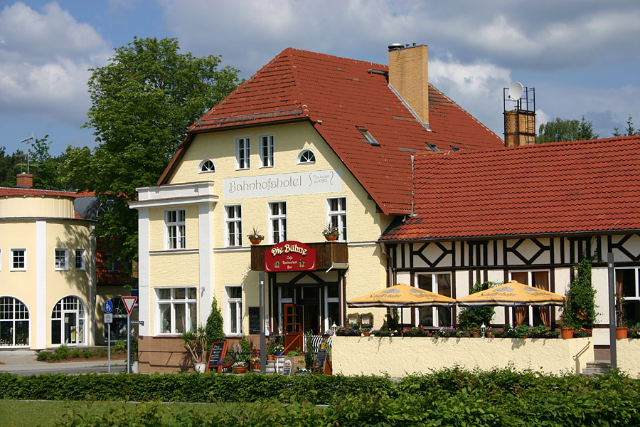 Hotel Am Bahnhof Bad Saarow
